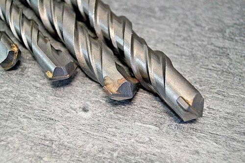 6 x Forets béton 10-22 mm x 400 mm SDS Marteau Perceuse Foret de maçonnerie béton forets