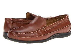 0f20bdf1e913 Dockers Mens Amalfi Shoes Tan Leather Slip On Loafers Size 7 Medium ...