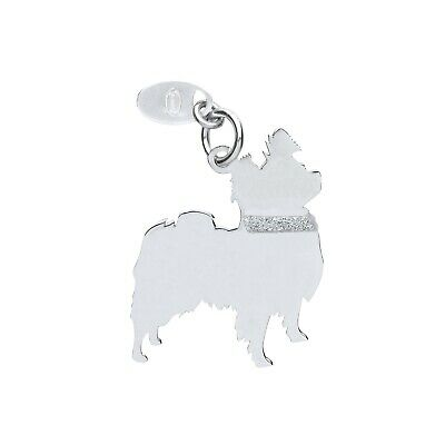 "Silver Shaggy Dog Pendant Solid Silver 925 Stamp Pet Jewellery 14-30"" Chain"