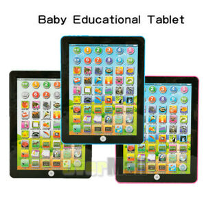 Tablet-Toy-For-Baby-Kids-Computer-Learning-Reading-Educational-Fun-Play-Toys-New