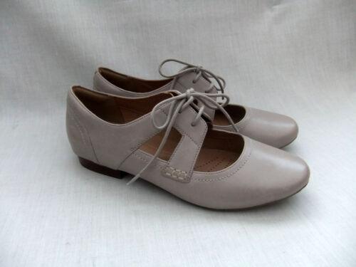 cuero Nuevo mujer Henderson de Clarks la de Jazz teja zapatos qOOTfFZ