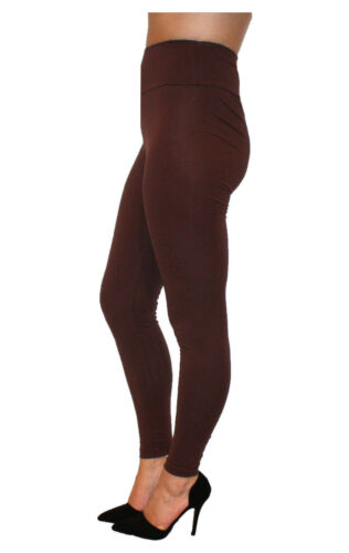 Full Length High Waisted Leggings Premium Cotton and Lycra All colours sizes