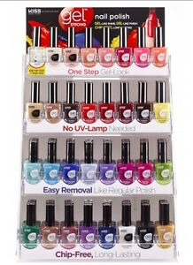 Details about KISS NEW YORK GEL STRONG NAIL POLISHES CHIP FREE CHOOSE COLOR  KNP023-027