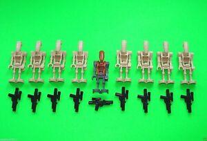Lego Figurines Star Wars Droïdes # droïdes armée armé # = TOP!