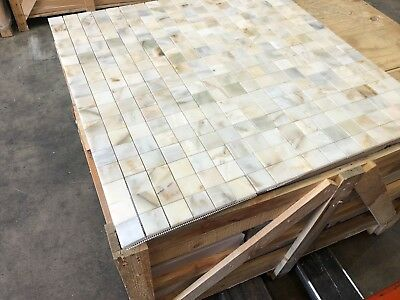 Sample 100x100mm Floor and Wall Marble Italian Calacatta Gold Marble Tiles