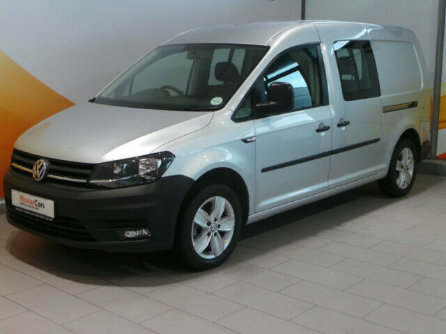 Volkswagen Caddy Crew Bus Maxi 2.0 TDI, Silver with 20000km, for sale!