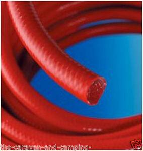 """Reinforced Red Water Hose 1/2"""" (12.5mm) ID -Priced Per Metre Caravan / Motorhome"""