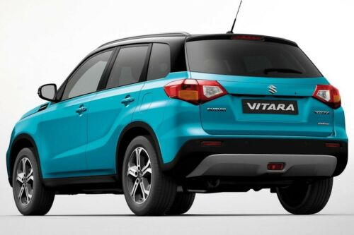 3D TPE Alfombrillas de Goma Maletero Set para Suzuki Vitara II desde 2015