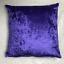 Handmade-Crushed-Velvet-Cushion-Cover-Sofa-Pillow-Case-Various-Sizes-Available thumbnail 8