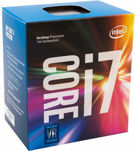Intel Core I7 7700k 4 2ghz Kaby Lake Cpu Lga1151 Desktop Processor Boxed Ebay