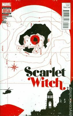 Scarlet Witch #2A Aja Variant VF 2016 Stock Image