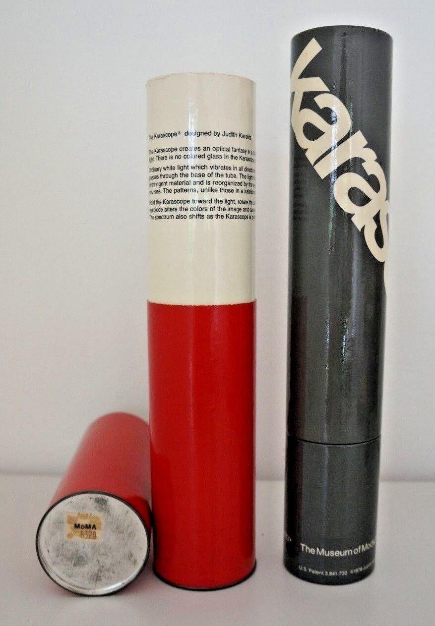 1978 karascope MOMA Judith Karelitz VINTAGE caleidoscopio