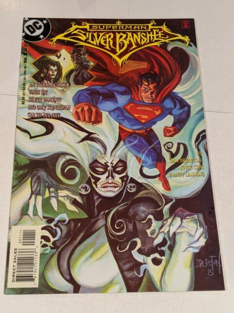 Superman Silver Banshee #1 December 1998 DC Comics