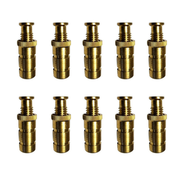 Wood Grip Deck Brass Anchor For Pool Safety Cover 5 Pack For Sale Online Ebay