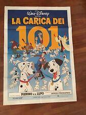 MANIFESTO 2F  La carica dei 101 ,One Hundred and One Dalmatians,WALT DISNEY