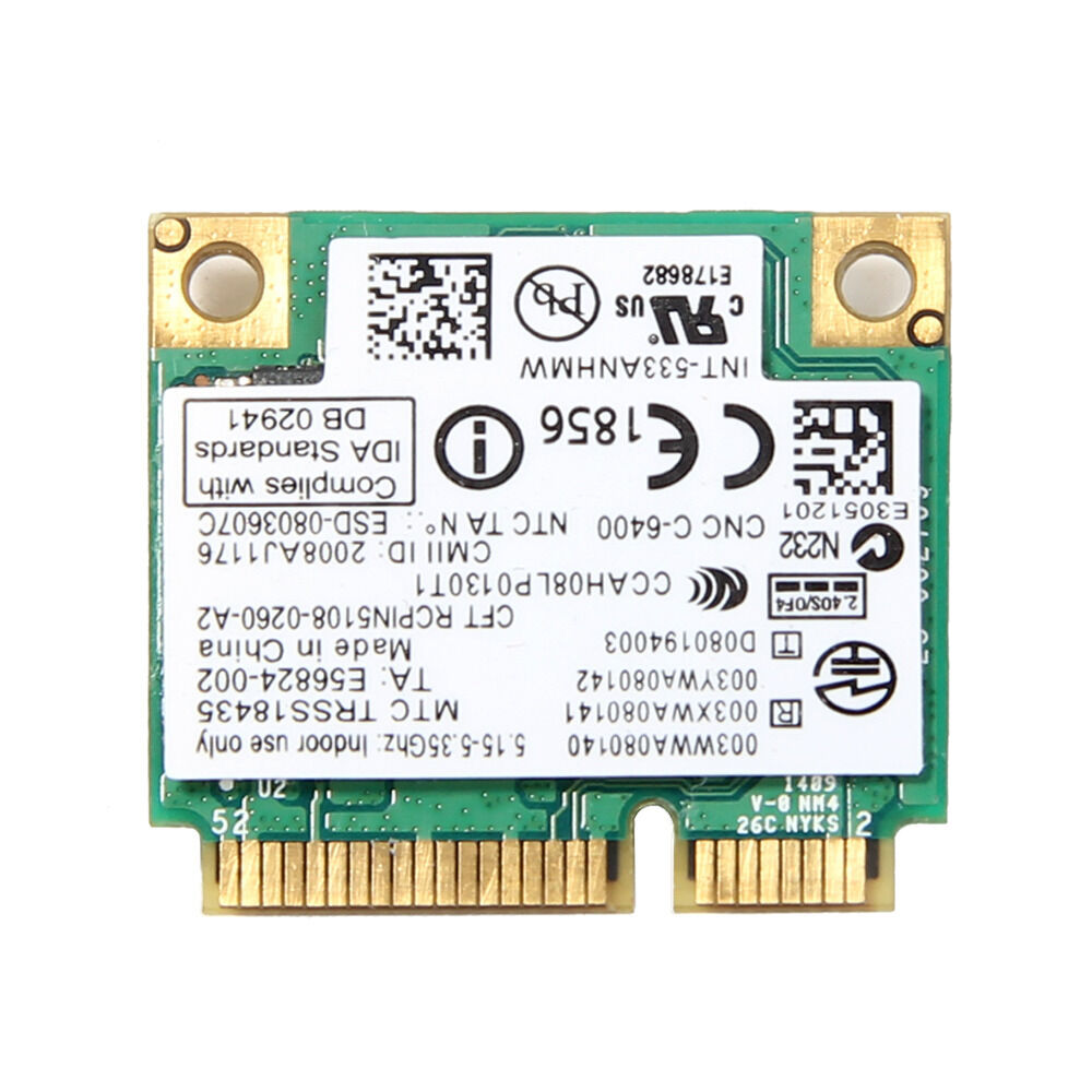 Dell Studio Dual Band Wireless WIFI Link N Card 1435 1450 1457 1537 15 450 Mbps