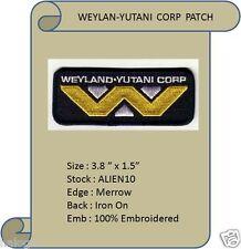 WEYLAND-YUTANI CORP COSPLAY PATCH - ALIEN10