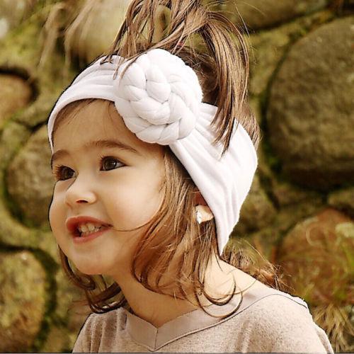 NEW Kids Baby Girls Toddler Knot Turban Hair Band Headwear Headband Accessories