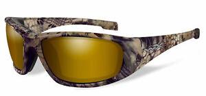 58581c7cab75 New Wiley X Boss Kryptek Highlander Venice Gold Polarized Sunglasses ...