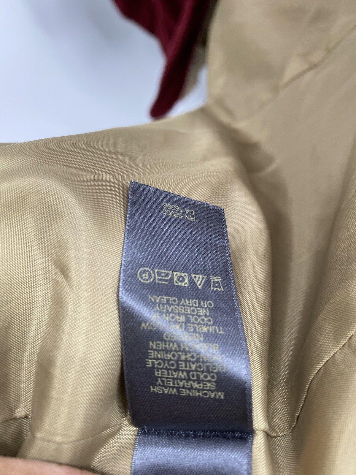 Liz Claiborne Red suede lined jacket/blazer Mediu… - image 7