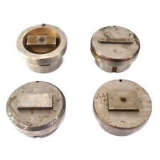Lot Of 4 Mate Punch Amp Die Press Brake Tooling Attachment 89mm Diameter
