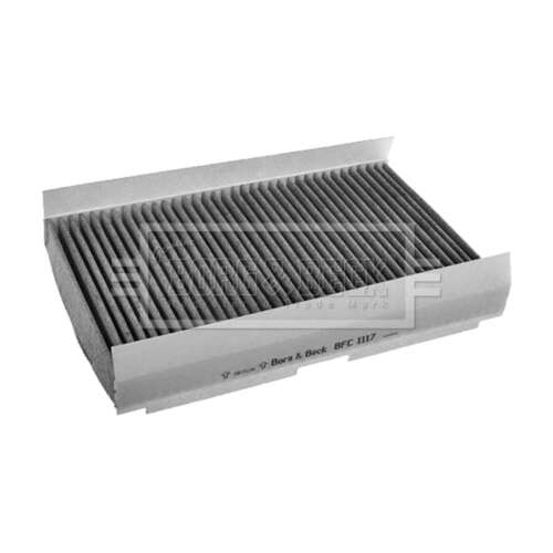 Fits Citroen C3 Picasso 1.6 HDi 90 Borg /& Beck Activated Carbon Pollen Filter