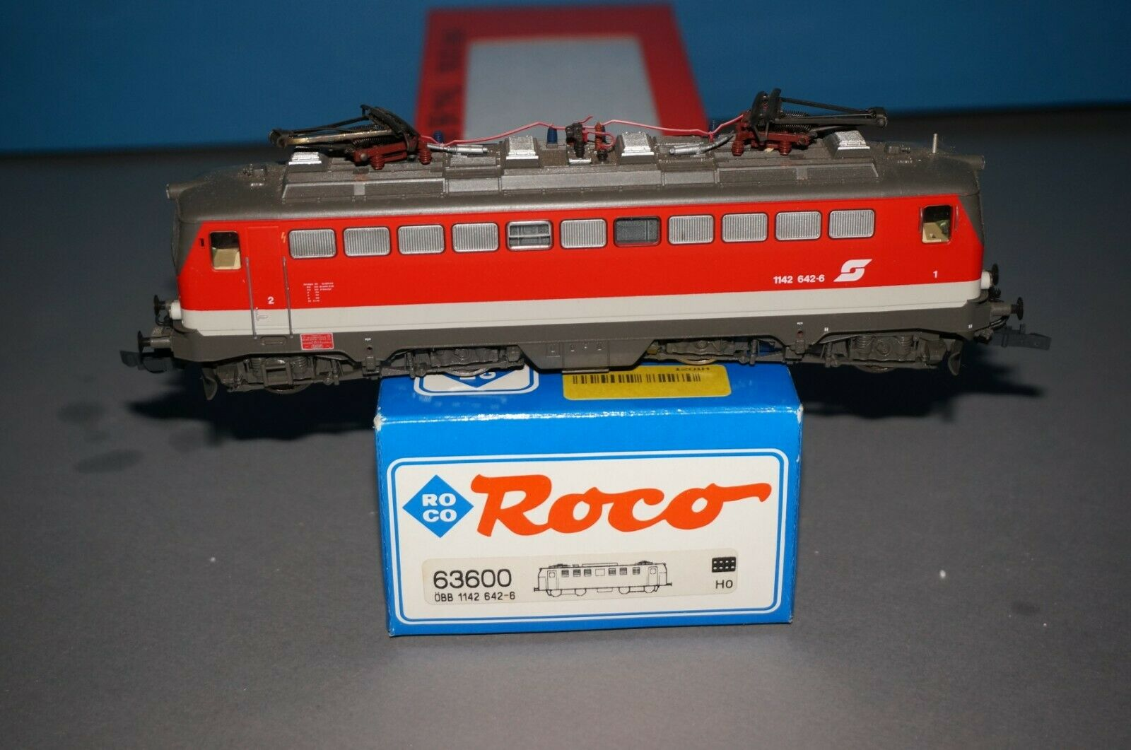 RF-35] ROCO 63600 - H0 - E-Lok - ÖBB 1142 642-6 - AnalogDSS OVP -fährt  | Lebensecht