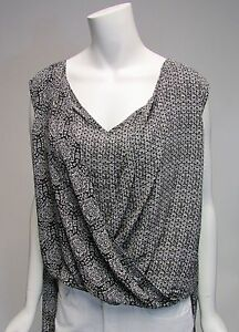 Philosophy-Republic-Clothing-Mix-Pattern-Sleeveless-Asymmetrica-Bottom-Top-NWT
