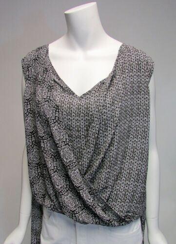 Philosophy Republic Clothing Mix Pattern Sleeveless Asymmetrica Bottom Top NWT