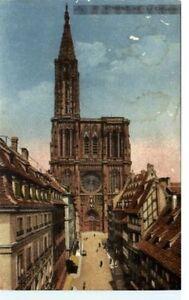 STRASBOURG-Elsass-France-Frankreich-Carte-Postale-1944-alte-Postkarte