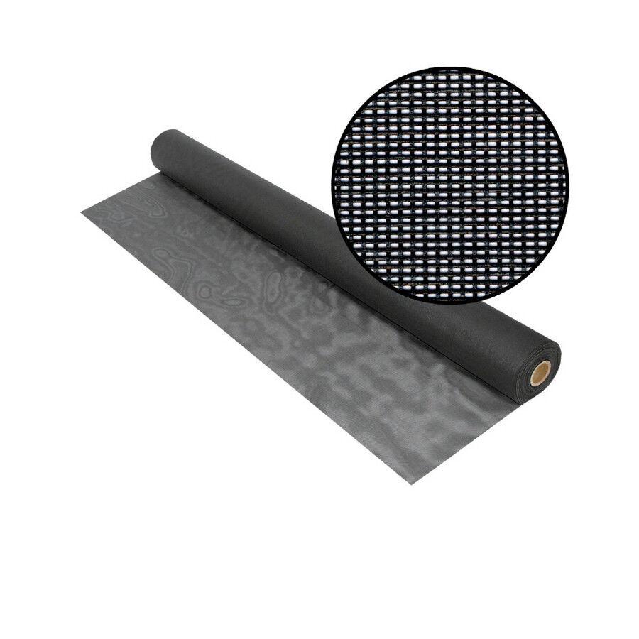 Fiberglass Mesh Charcoal Bug Screen 9 ft wide x 15 ft long