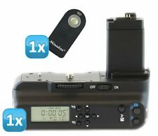 Meike Batteriegriff LCD Timer Canon EOS 450D 500D 1000D ersetzt BG-E5 + IR Fern.