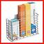 mDesign-AFFIX-Kitchen-Wrap-Holder-Self-Adhesive-Steel-Kitchen-Organiser-Basket thumbnail 1