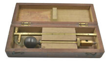 Rare Interesting C.A. Smith Patent Early Antique Cased Brass Paper Trimmer