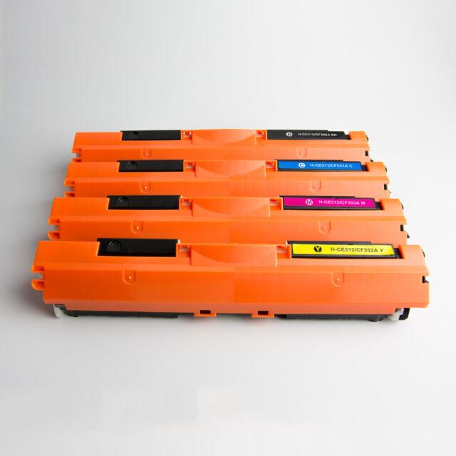 8x Toner CF350A CF351A CF352A CF353A 130A for HP LaserJet MFP M176 M153 M177FW