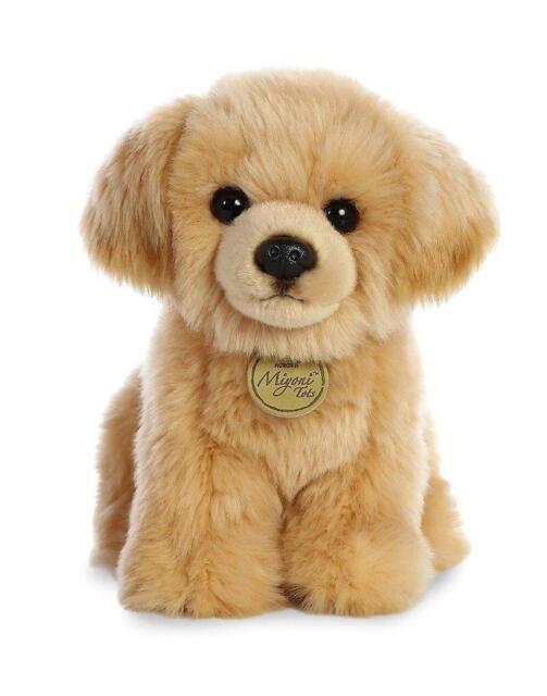 Aurora 26339 World Miyoni Plush Golden Retriever Pup Tan Ebay