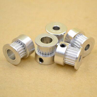 5Pcs gt2 timing pulley 20t 5//6.35//8mm bore for 6mm belt reprap 3d printer  Pf