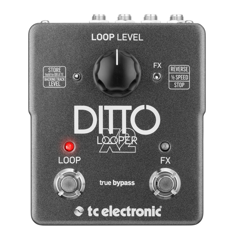 TC Electronic Ditto X2 Looper Pedale