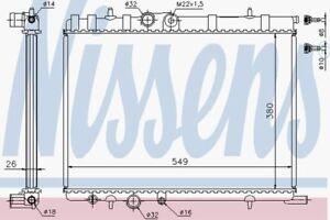 NISSENS-RADIATOR-63502-Fit-con-Citroen-XSARA