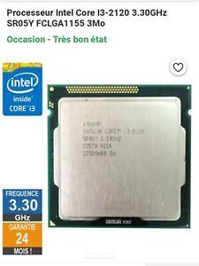 Processeur i3 2100 3,1 Ghz socket 1155