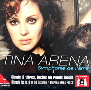 Tina-Arena-CD-Single-Symphonie-De-L-039-Ame-France-EX-EX