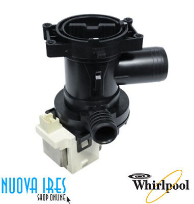 POMPA SCARICO LAVATRICE 480111100786 461974644711 WHIRLPOOL PMP010WH