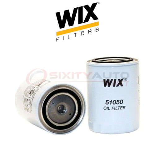 WIX Engine Oil Filter for 1993-1997 Hino FD2218LP 6.5L L6 Filtration xy