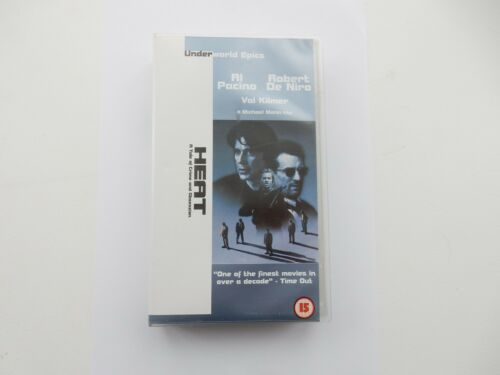 1 of 1 - Heat (VHS/SUR, 2000) BRAND NEW Tape Never opened, Very Collectable
