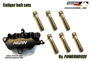 Honda CBR 600 RR 03-04 Stainless joint bolt /& pin set front brake calipers