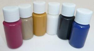 teinture pour cuir couleur pigment peinture voiture meubles kit ebay. Black Bedroom Furniture Sets. Home Design Ideas