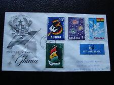 GHANA - enveloppe 1er jour 1960  (cy23)