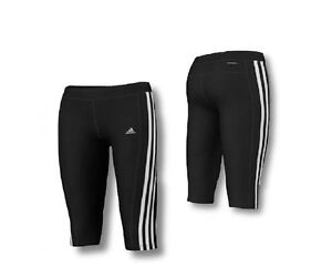 2018 sneakers catch new style Details zu ADIDAS Kinder Mädchen ClimaCool 3/4 Sporthose Tight Fitness Hose  Trainingshose