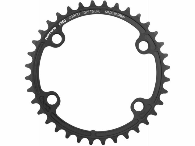 34t for use with 50t Rotor noQ 110x4 Asymmetric BCD Round Chainring