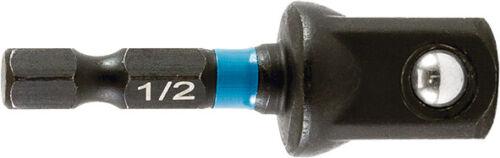 "Schlagschrauber Makita Bit-Adapter IMPACT BLACK B-66874 1//4 /"" auf 1//2 /"" Zoll"